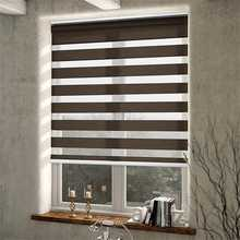 "100% Blackout Zebra Roller Blinds Shades(Z-B10)Pattern,Listed price at(1pc,39"" W x 39""L)Contact us for more sizes(China)"