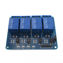 4 way relay Extended Edition 5V with AVR/51/PIC microcontroller DC5V optocoupler isolation support