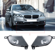 1 Pair Left & Right Auto Car Front Fog Light Lampshade Bulbs Cover Set for BMW 5 SERIES E60 2008-2015 Car-styling(China)