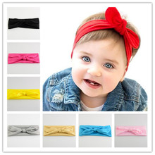"10pcs/lot U Pick Color 2.8"" Satin Fabric Turban Headwrap girls Stretchy Top Knot Headbands Hair Accessories FDA87"