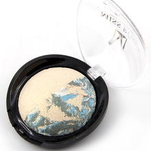 MISS ROSE Mineral Effects Baked Eyeshadow Disco Fever Color Mixture Can be Used Wet or Dry Eye Shadows Dry for a Soft Smoky(China)
