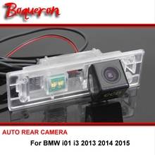 For BMW i01 i3 13~15 Car Reverse Camera wireless Car Auto BackUp Parking Assistance For SONY CCD Night Vision Rear View Camera