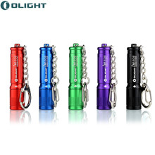 Olight i3e EOS mini Led Keychain Flashlight 90 Lumens cree led XP-G2 Torch Battery AAA EDC multi color led flashlight 44 meters(China)