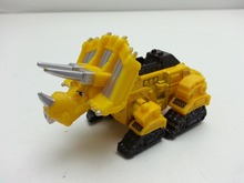 MT Dremworks Dinotrux Yellow Dozer Construction Half truck Dragon Diecast Metal Loose New In Stock & Free Shipping