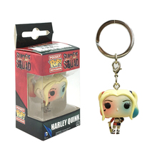 Funko Pop Suicide Squad Harley Quinn Action Figure With Retail Box PVC Keychain Toys