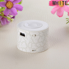 Hot Sale Mini MP3 Player Cool Crack Pattern Design Rechargeable Support TF Card Music Player Speaker Children Gift(China)