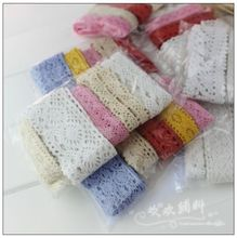 Novelty DIY lace fabric/5 packs/lot width 1cm--4cm/doll lace/hair accessories /handmade accessories /lace wholesale 021703