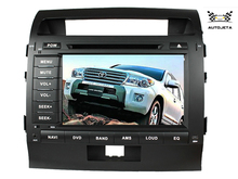"4 UI intereface combined in ONE system 8"" CAR DVD PLAYER FOR Toyota Landcruiser land cruiser lc 200 lc200 07-15 BLUETOOTH GPS(China)"