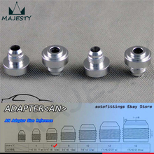 4pcs AN -6 AN6 Male Aluminium Adapter Weld Bung Nitrous Hose Fitting Tank Cell silver(China)