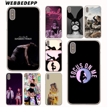 Buy WEBBEDEPP Ariana Grande singer Hard Cover Case iPhone X 10 8 7 6 6S Plus 5 5S SE 5C 4 4S for $1.49 in AliExpress store