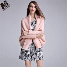 Maxdiroo Fashion Women's Cardigans Short Cardigans Long Sleeve Open Stitch Women Cardigans Pink White Women Sweaters(China)