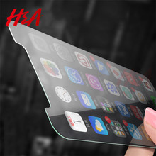 Buy H&A 2.5D 0.28mm Ultra-thin Screen Protector Tempered Glass iPhone X 10 Toughened Glass Film iPhone 8 7 6 6s Plus 5 Glass for $1.39 in AliExpress store