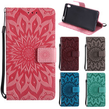 Buy Sunflower Leather PU Phone Case Sony Xperia E5 Case Flip Capa Coque Sony E5 Case Wallet Cover Sony F3311 F3313 Funda for $3.79 in AliExpress store