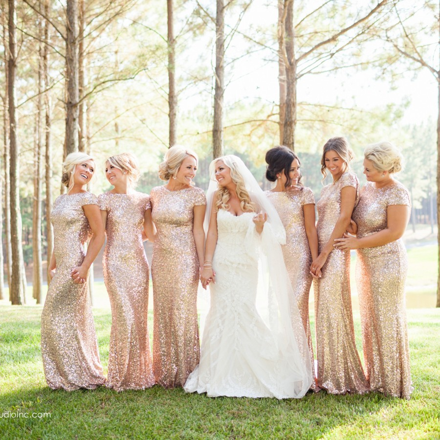 Online buy wholesale sparkly bridesmaid dress from china sparkly hot sparkly bridesmaid dress long with short cap sleeve mermaid scoop backless bling bling sequins bridemaid ombrellifo Images
