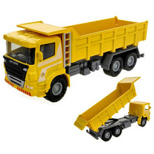 Dumper Truck Model Toy 1:60 Diecast & Alloy Dumpers Trucks Alloy Engineering Vehicle Car Model Collection Cars Kids Toys Juguete