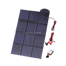 2017 150W Solar Power Bank Highly Efficient Poly Crystalline Caravan Solar Blanket Foldable solar charging kit  Solar Charger