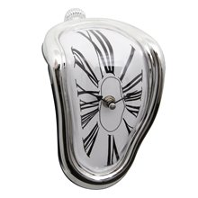 Melting clock art wall clock