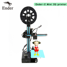 2017 Newest Ender-2 3D Printer DIY KIT Mini printer 3D machine Reprap prusa i3 tarantula 3d printer 3D with Filament A6 A8(China)