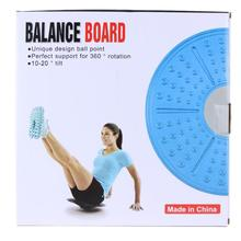 360 Degree Rotation Balance Board Fitness Equipment ABS Twist Boards Support Massage For twist exerciser Training Equipment(China)