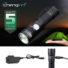 Tazer Cree lanterna Led hand light mini torch 14500 rechargeable 500LM Aluminum waterproof Convoy flashlight strobe flash light