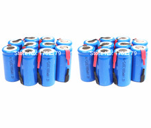 20 Pieces/Lot 22*42mm Sub C SC Rechargeable Battery 1.2V 1800mAh NI-CD Batteries With PCB For Electronic Tools(China)