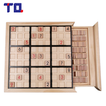 TQ Brand Nine Sudoku Number Game Puzzles for Kids Adult Math Toys Jigsaw Puzzle Table Game Children Learning Educational Toys(China)