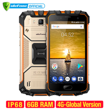 Ulefone Armor 2 Waterproof IP68 Smartphone 5.0 inch FHD MTK6757 Octa Core Android 7.0 6GB RAM 64GB ROM 16MP 4G Global Version(China)