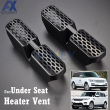 AX 2Pcs For Land Range Rover / Sport L405 L494 2013-2018 Under Seat Floor AC Heater Air Conditioner Duct Vent Cover Grill Outlet