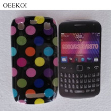 OEEKOI Polka Dots Colorful Dots Case for Blackberry 9360 9370 Phone Bags(China)