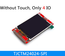 NoEnName_Null 2.4 inch SPI TFT screen module without touch panel least need 4IO ILI9341 LCD display