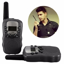 Portable Adjustable Universal Multi Channel 2-Way T-388 Dual LCD 5KM UHF Car Auto VOX Radio Wireless Traveling Walkie Talkie Pro(China)