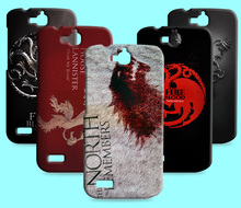 Ice and Fire Cover Relief Shell For Huawei honor 3C Cool Game of Thrones Phone Cases For Huawei honor 3C play