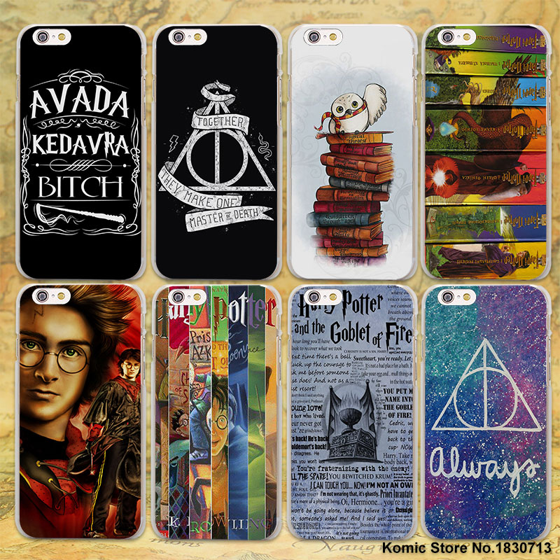 Avada Kedavra bicth Unique Harry Potter Spell hard clear Cases cover for Apple iPhone 7 6 6s Plus SE 4s 5 5s 5c plastic phone ca(China)