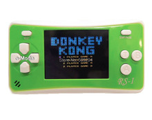 "Free Shipping!  8-Bit Retro 2.5"" LCD 150x Video Games Portable Handheld Console  (Green) - NEW!"