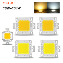 High Power Epistar COB LED Chip 10W 20W 30W 50W 100W DC 10V-32V Integrated Lamps SMD For Floodlight Spotlight Warm White /White