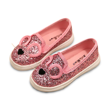 Hot SALE Cute Girls Shoes Autumn New Cartoon Ears Fashion Baby Girls Sneakers Children Shoes Kids Soft Casual Shoes Size 21-30