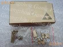 Free Shipping for Gold Zelda Case For Ndsl Case for NDS Lite Shell Housing With full set Parts