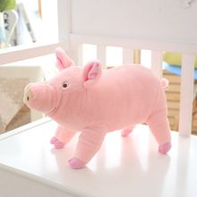 Nooer 38/65cm Kids Favor Lovely Soft Plush Pig Toys For Children Stuffed Animals Pig Doll Baby Child Birthday Gift Free Shipping(China)