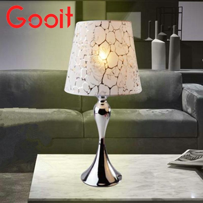 Fabrics Table Lamp Modern Art High Grade Eyeshield Desk Lamp For Home Bedroom Living Room Decoration Bedside Lamp<br>
