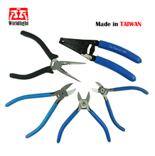 Japan Style multi tool wire stripper Electronic Diagonal crimping Pliers cable cutter for Soft Copper Wire Cutter multitools(China)