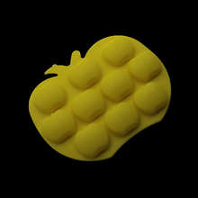 Soft Candy Cake Decoration Silicone Mold Ice Grid Diy Chocolate Dessert Baking Apple Molding Handmade Soap(China)