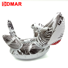 DMAR 2pcs Inflatable Shark Mini Pool Float Toys Drink Holder Cup Holder Swimming Ring Circle Beach Water Bath Toy Kids Adults(China)