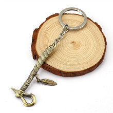 New Hot Creed Deiss  Axe Keychain Metal Key Rings Gift Car Key Chain Jewelry for Men Women Accessories HC11539