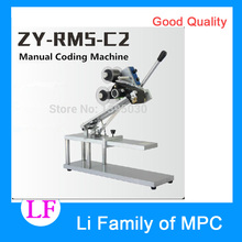 1pcs ZY-RM5-C2 Color Ribbon Hot Printing Machine Heat ribbon printer film bag date printer manual coding machine(China)