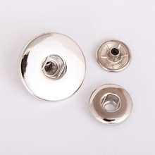 Simple Design 12mm and 18mm Snap Charms (Vn-570*100) Free Shipping Vocheng Jewelry