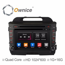 OPure Android 4.4 Quad Core Car DVD Multimedia Player for KIA Sportage r Sportage 2010-2015 with Radio BT GPS WIFI