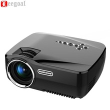 GP70UP Wireless Mini LED Video Projector 3D Android Smart WiFi Projector 1200 Lumens Analog TV LED Projector Home Cinema