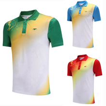 Running Gym Sportswear Quick Dry breathable badminton shirt,Women/Men table tennis shirt team game short sleeve POLO T Shirts