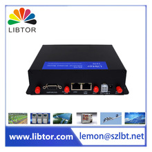 cheap price T270-DE1 industrial grade 4g lte gateway cellular bus wifi router Support different types of DDNS service