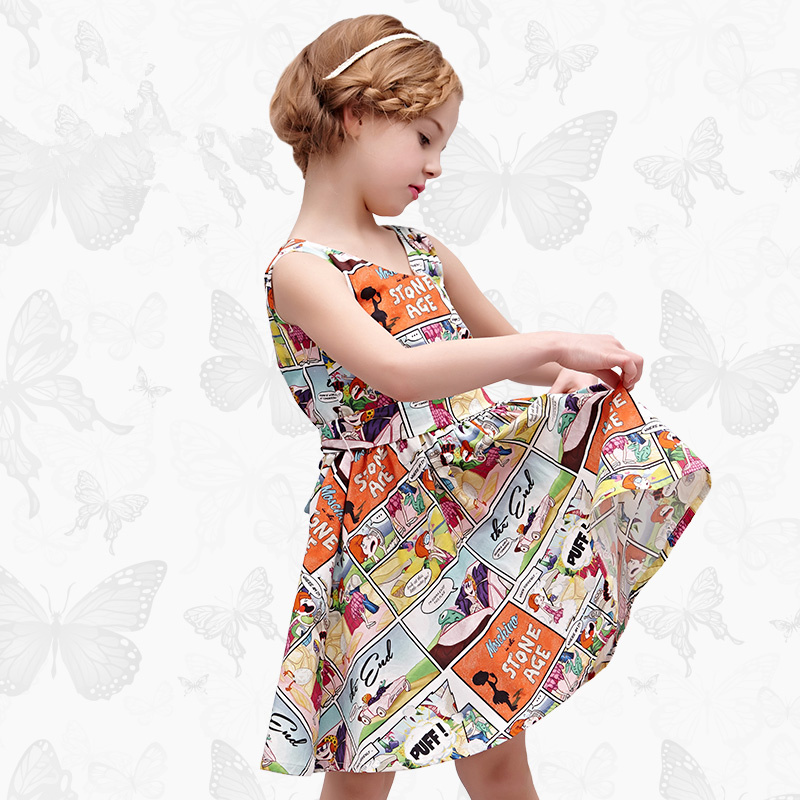Girls Dress with Handmade Dragonfly 2017 Brand Princess Dress Long Sleeve Robe Fille Clothes Kids Dresses 12<br>